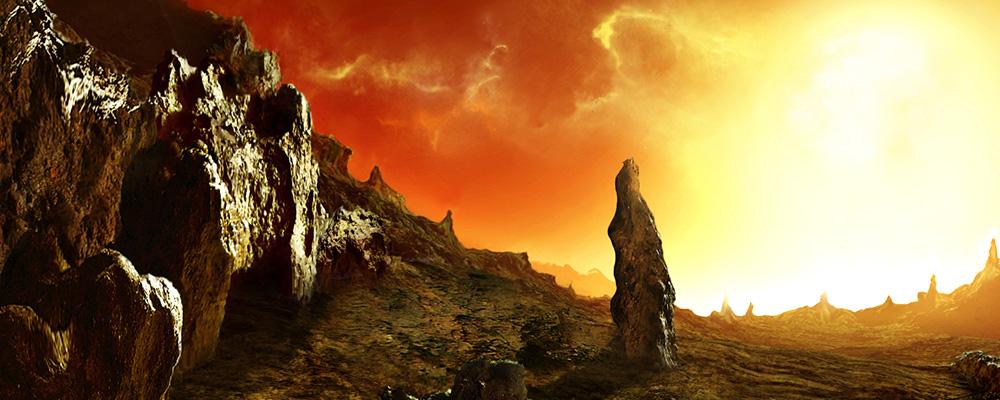 Welt ohne Nacht (SF-Kurzgeschichte von Anneliese Wipperling)